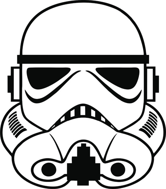 Free shipping stormtrooper wall sticker decal star wars empire car tablet