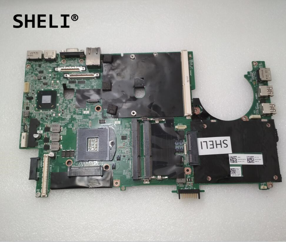 SHELI For Dell M6600 MOTHERBOARD NVY5D 0NVY5D CN-0NVY5DSHELI For Dell M6600 MOTHERBOARD NVY5D 0NVY5D CN-0NVY5D