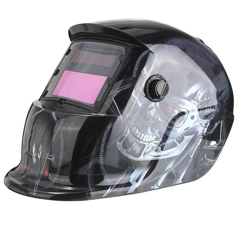 Förderung! Solar Automatische Schweiß Helm Schweiß Maske Automatische Schweißen Schild MIG TIG ARC Schweißen Schild (Terminator)