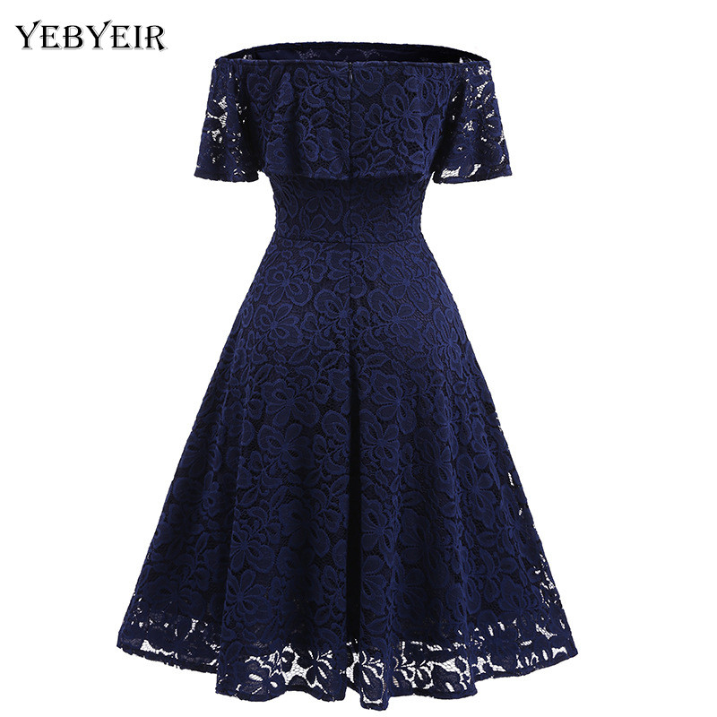 2018 New sexy solid color slash neck sleeveless knee-length A-line summer party noble youthful slim women dress