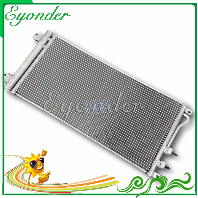 New Capacitor Air Cooler Aircon A/C AC Air Conditioning Conditioner Condenser for SSANGYONG Rexton RX270 Fork