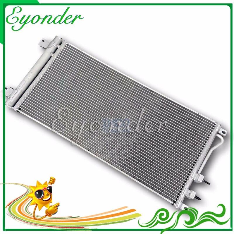 Nuovo Condensatore di Raffreddamento di Aria Aria Condizionata A/C AC Aria Condizionata Condizionata Condensatore per SSANGYONG Rexton RX270 Forcella