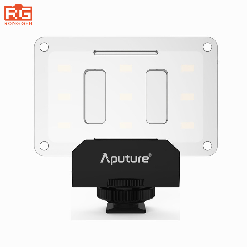 Original Aputure AL-M9 LED Video Light pockable TLCI/CRI 95+ on-camera fill light 9pcs SMD small pocket lights led lighting mcoplus air 1000b led video light pockable cri 95 display bi color