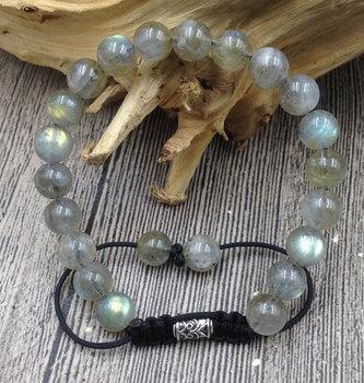Bracelet Boule Labradorite