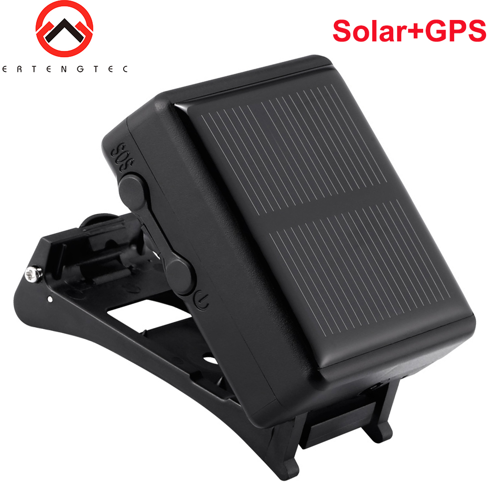 Solar GPS Tracker Waterproof IP67 Tracker Device For Sheep Cow Cattle Animal Long Standby Time GPS