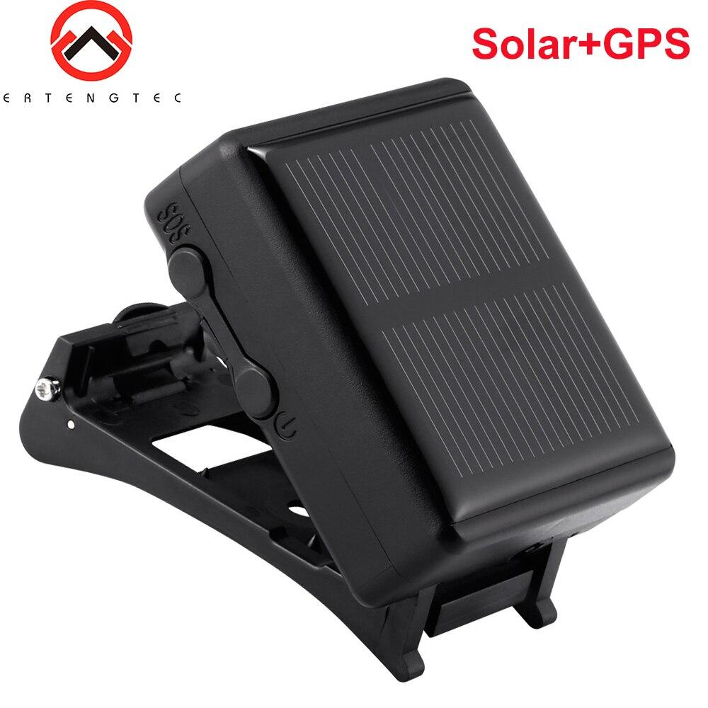 Dispositif solaire de traqueur de GPS imperméable IP67 pour le bétail de vache de mouton longue durée de veille de soutien de localisateur de GPS APP PK RF-V26
