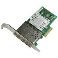 Quad Порты и разъёмы fiber Channel pci e x4 карты Gigabit Ethernet сетевой адаптер nhi350am4