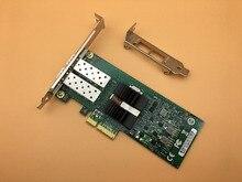 82576 Чипсет PCI-E X4 Двухпортовый SFP Волокна Серверный Адаптер NIC E1G42EF-SFP 1000 МБ Бесплатная Доставка