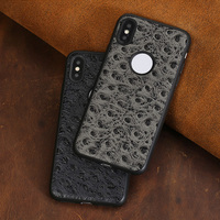 all inclusive soft shell For iPhone X ostrich pattern phone protection case For iPhone 5 5s 6 6s 6plus 6splus 7 7plus 8 8plus