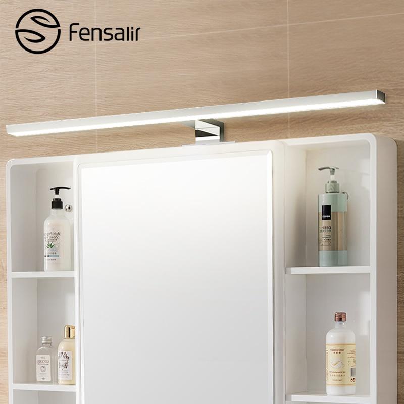 Fensalir zīmola sienas lampa 8w 600mm Ūdensnecaurlaidīga vannas istabas furnitūra grims tualetes bārs Led gaismas priekšējā spoguļa apgaismojums Ml002-600p