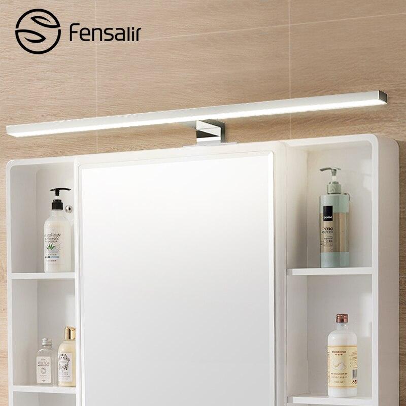 Fensalir marque mur lampe 8 w 600mm Étanche Salle De Bains Appareils maquillage toilette bar Led lumière avant miroir éclairage Ml002-600p