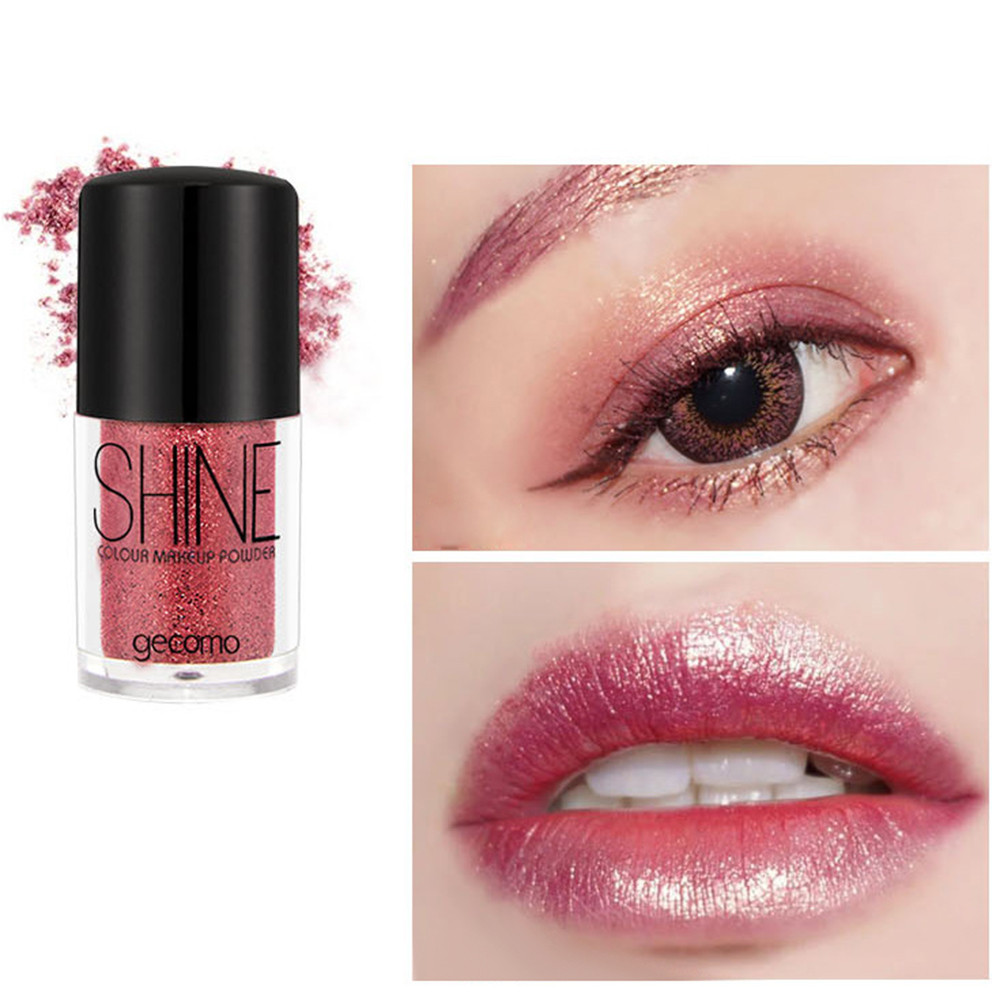 Eye Shadow New Multi-function Monochrome Eye Shadow Glitter Pearl Mermaid Ji Gaoguang Powder Glitter Powder Body Flash