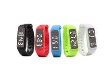 CD5 оригинальный Smart Браслет 24 часов шаг счетчик монитор сна температуры, время многофункциональный спортивные часы Tracker Розничная коробка