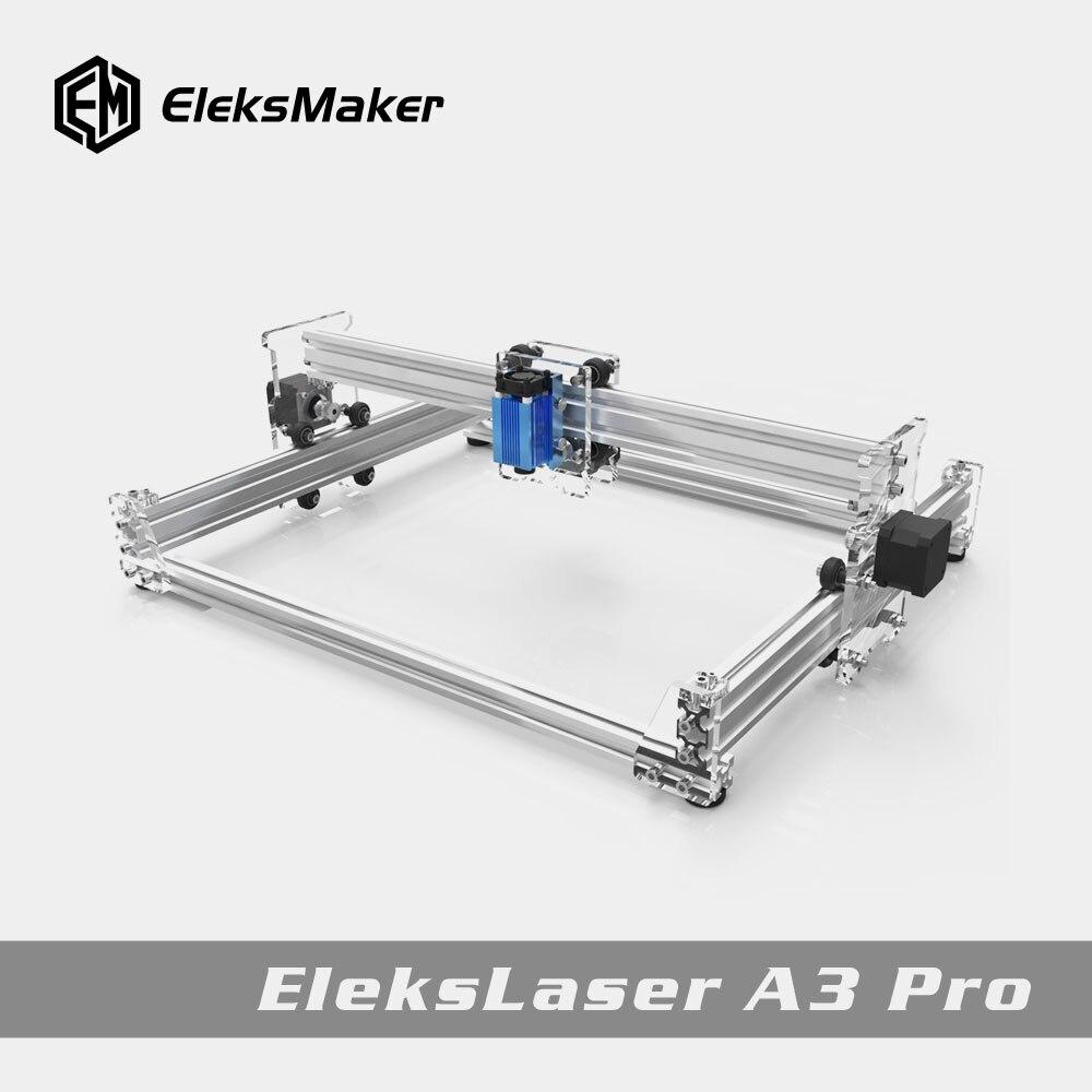 EleksMaker EleksLaser-A3 Pro лазерный гравировальный станок с ЧПУ лазерный принтер