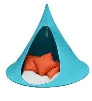 Детские качели детский гамак палатка детские качели подвесной, для помещений и улицы стулья сиденья Vivere бонсай двойной одиночный Cacoon