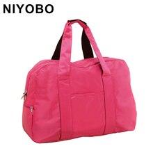 6 Farben 2016 Neue Mode Reisetasche Wasserdicht Reise Handtaschen Frauen Gepäck Travel Bag Folding Taschen DQ29