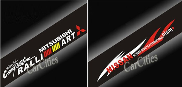 Graphics For Nissan Windshield Graphics Wwwgraphicsbuzzcom - Front window stickers for car