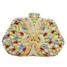 LaiSC Luxus kristall evning taschen verzierte diamant party sac pochette frauen hochzeit geldbörse damen hochzeit kupplung taschen benutzerdefinierte SC130