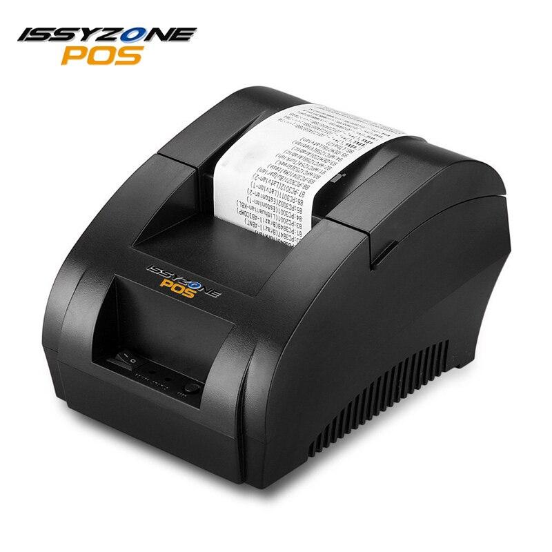 USB 58mm Thermique Réception Imprimante Intégrée adaptateur Bill pos imprimante Pour Supermarché et resaurant I58TP04