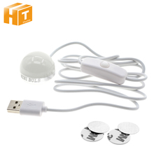 LED Book Light 2W USB Powered Mini Bulb Portable Study Reading Light.