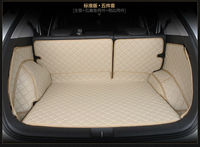 2016 New Full Surrounded Car Trunk Mat Leather Suitcase Pad Automotive For Cadillac CTS CT6 SRX