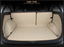 2016 new full surrounded car trunk mat leather suitcase pad automotive for Cadillac CTS CT6 SRX DeVille Escalade SLS ATS-L/XTS цена и фото