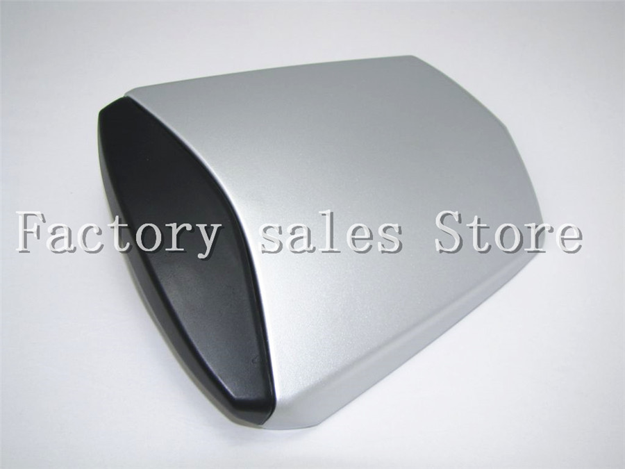 For Yamaha YZF600 YZF 600 R6 2003 2004 2005 03 04 05 Silver Rear Seat Cover Cowl Solo Racer Scooter Seat Motorcycle YZFR6