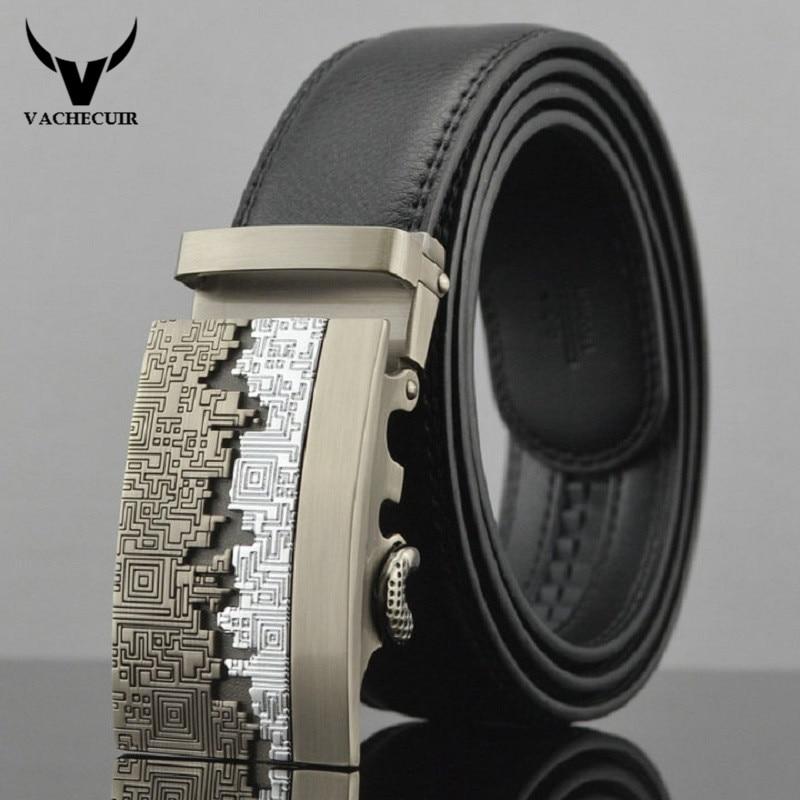 2017 Mode homme bracelet en cuir de vache hommes boucle automatique ceinture  authentique designer ceintures ceinture homme, cinto masculino W180 0615b61cd66