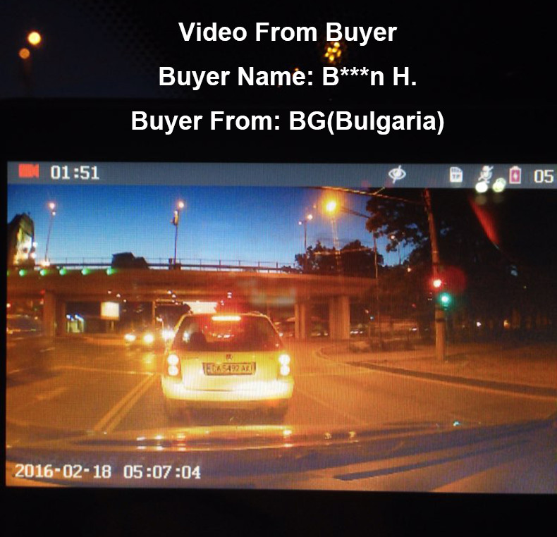 E-ACE Car Dvr 1080P Dual Lens Dash Camera Rear Mirror Digital Recorder With Rearview Camera Video Recorder Camcorder Registrar 16