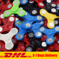 200 PCS DHL Finger Hand Spinner High Quality Hand Spinners For Autism and ADHD Rotation Time Long Anti Stress Toys Kid Gifts