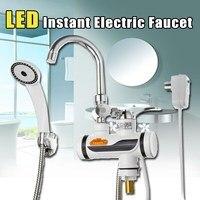 2000-3000วัตต์220โวลต์ห้องครัวLEDทันทีเครื่องทำน้ำอุ่นไฟฟ้าความร้อนอย่างรวด