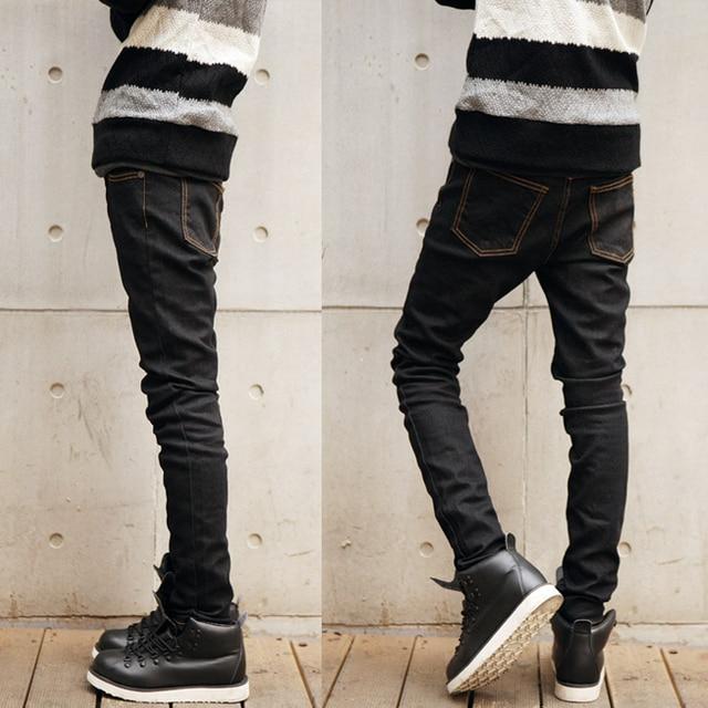 Pantanones Jeans Semi Pitillos Para Hombres