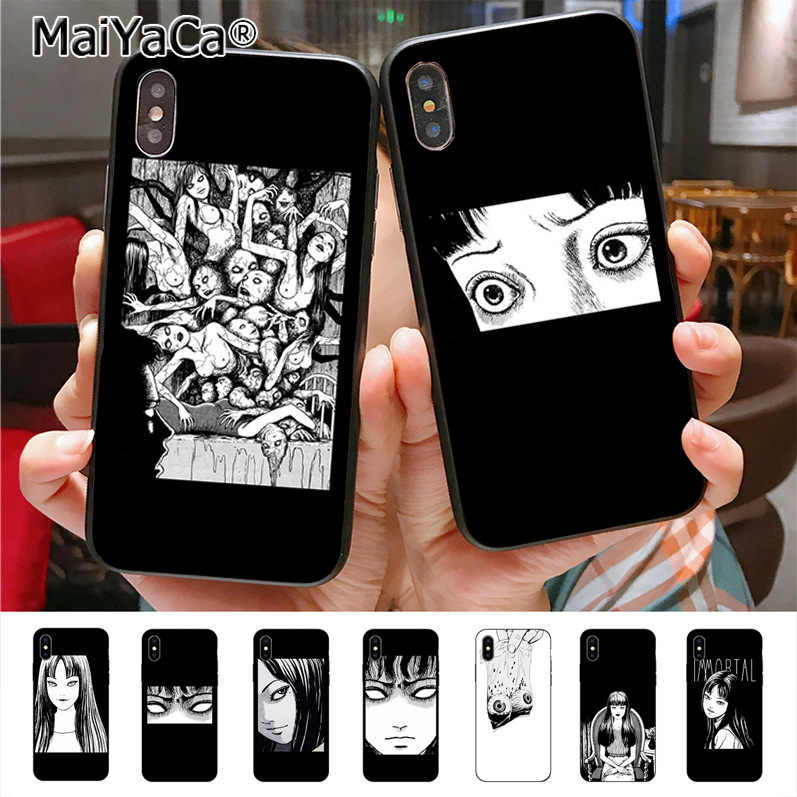 MaiYaCa Japanese horror comic Tomie Phone Case for iphone 11 Pro X XS XR XS MAX 8 7 6 6S Plus 5 5S SE cass