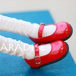 Image 4 - Bybrana 1/4 1/6 BJD.SD.DD.BB.YOSD chaussures de poupée plat avec de petites chaussures multicolores spéciaux