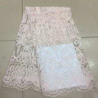 Nigerian French Bridal Embroidery Net Lace African Fabric For Dress Sewing X576 1