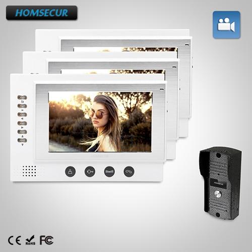 HOMSECUR 7 Hands-free Video Door Phone Intercom System+Dual-way Intercom HOMSECUR 7 Hands-free Video Door Phone Intercom System+Dual-way Intercom