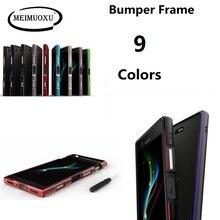 Dla Sony Xperia XZ3 XZ2 XZ1 kompaktowy Ultra cienka aluminiowa metalowa rama zderzaka Case do Sony XA2/XA2 Ultra/XZ1 mini