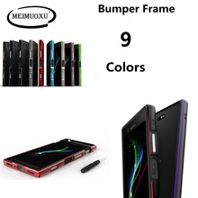 Voor Sony Xperia XZ3 XZ2 XZ1 Compact Ultra Dunne Aluminium Metal Bumper Frame Case Voor Sony XA2/XA2 Ultra /XZ1 Mini