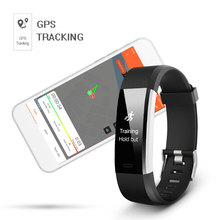 ID115HR PLUS Sports Wristband Heart Rate Monitor Fitness Tracker