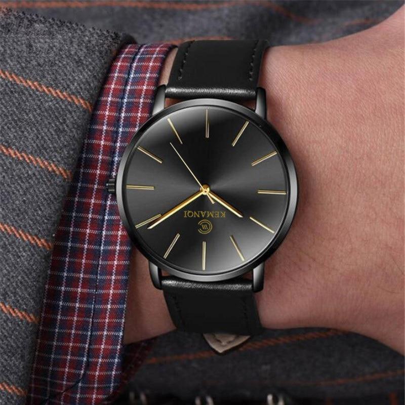 Ultra-thin Wrist Watch Men Watch Men's Watch Relogio Masculino Mens Watches Top Brand Luxury Clock erkek kol saati reloj hombre