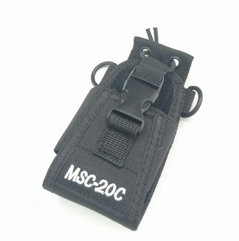 imágenes para MSC-20C Multi-function Radio Case Holder for Baofeng UV 5R 5RA 5RB 5RC 5RD 5RE+ 5RA+Two Way Radio