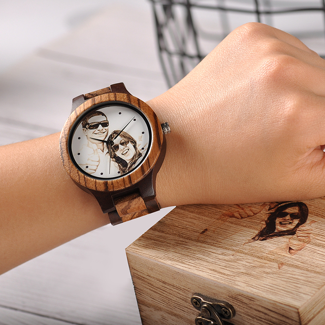 BOBO BIRD Personal customize Men Watch Family Birthday Gift Quartz Bamboo Watches Men's Wristwatch Engrave Logo 1