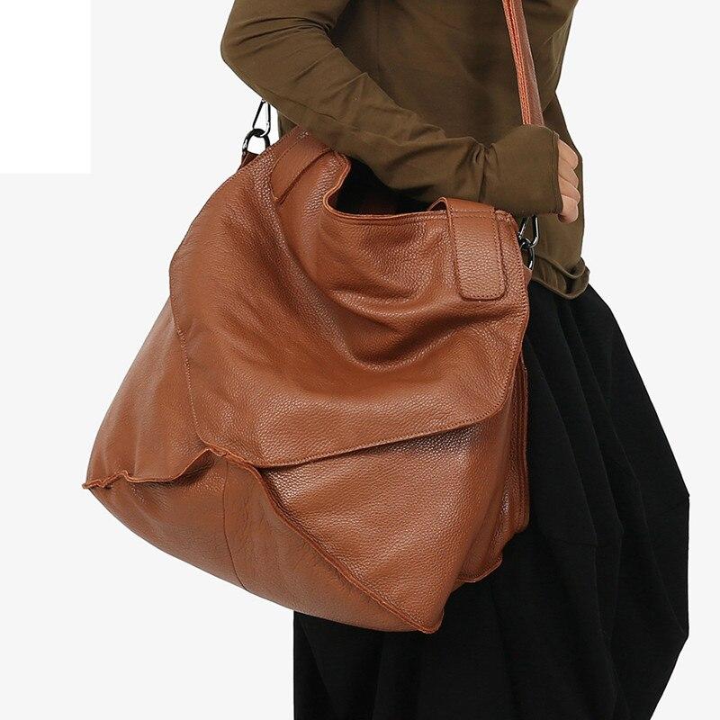 Pyaterochka Big Genuine Leather Handbag Women Large Vintage Shoulder Bag Ladies Bucket Hand Bags Luxury Famous Brand Casual TotePyaterochka Big Genuine Leather Handbag Women Large Vintage Shoulder Bag Ladies Bucket Hand Bags Luxury Famous Brand Casual Tote