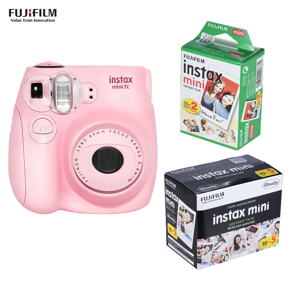 Fujifilm Instax Mini Film Camera Mini7c Mini 7C Instant Camera Cheaper than Instax mini8 mini9 Birthday