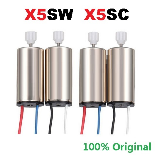 Original Motor For SYMA X5SW X5UW X5HC X5HW CW CCW Motor RC Quadcopter Spare Parts Engine Replacements Accessories Kits