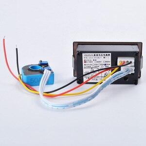 Image 2 - 0.28  LED DC Digital Voltage Current Meter LCD 100V 300V 600V.100A 200A 300A Voltmeter Ammeter with Hall Transformer