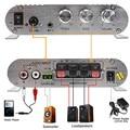 Новый 200 Вт Автомобильный Усилитель LP-838 12 В Смарт Мини Привет-fi Стерео Аудио усилитель для Дома Авто MP3 MP4 Stereo AMP Лодка Мотоциклов