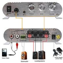 New 200W font b Car b font Amplifier LP 838 12V Smart Mini Hi Fi Stereo