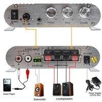 New 200W Car Amplifier LP 838 12V Smart Mini Hi Fi Stereo Audio Amplifier For Home