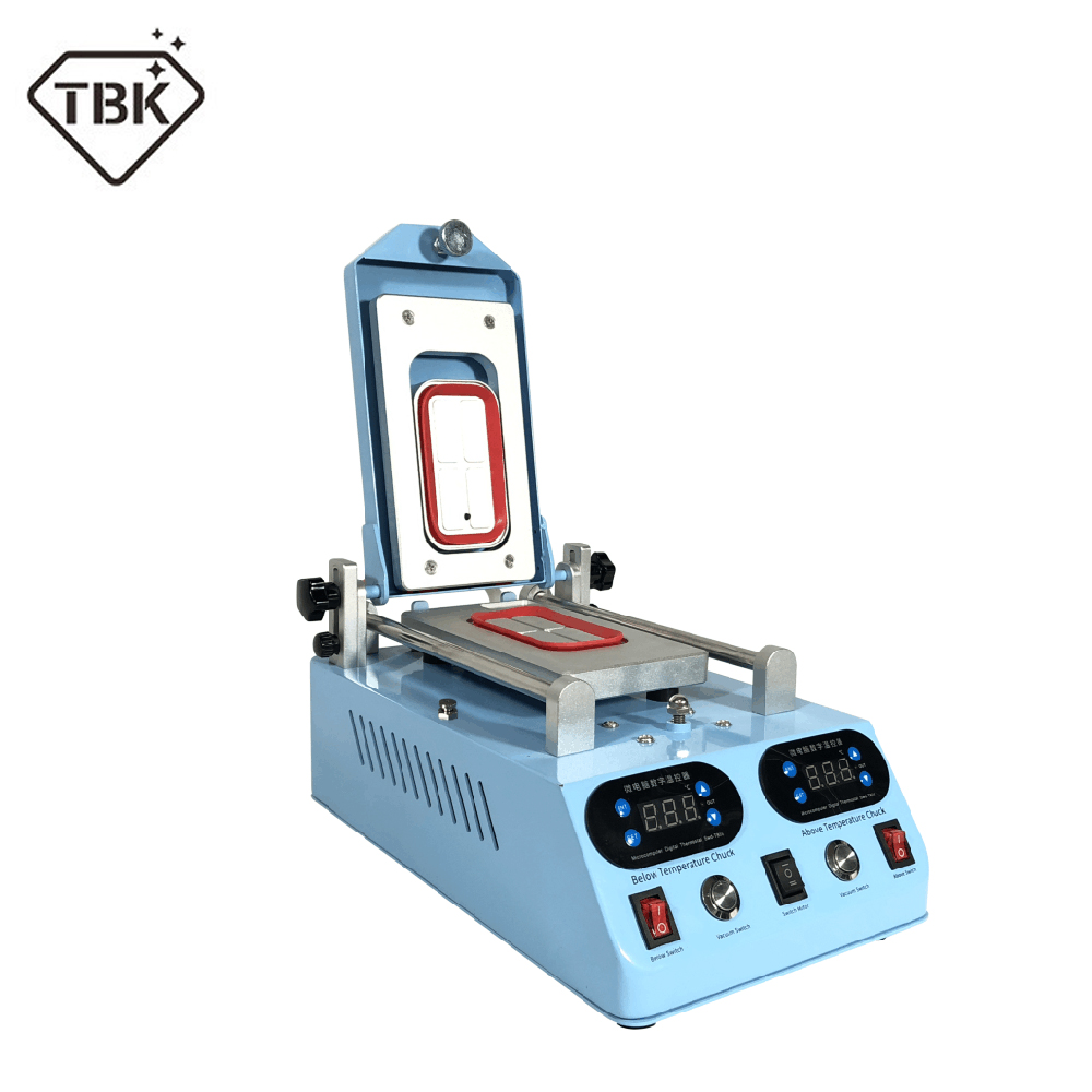 100% Original TBK TBK-268 Automatic LCD Bezel Heating Separator Machine For Flat Curved Screen 3 In 1 Touch Screen Separator